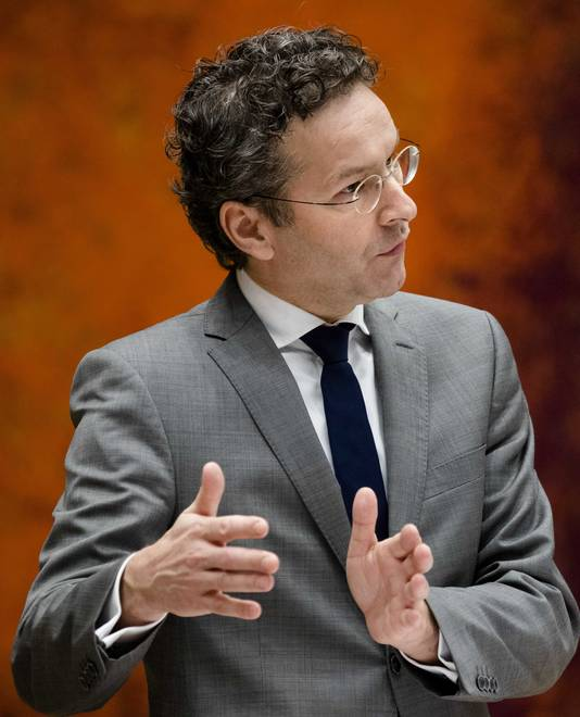 inister Jeroen Dijsselbloem van Financien.