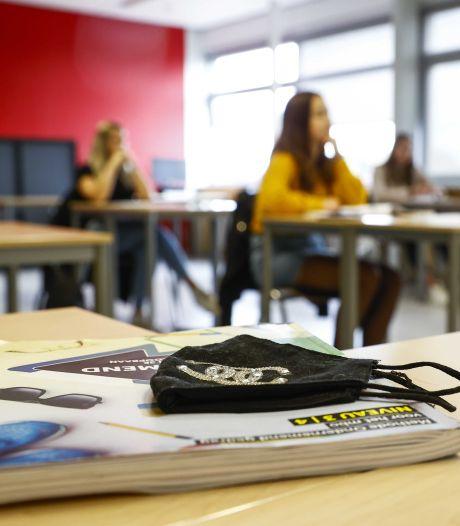 Weiger je als leerling een mondkapje te dragen? Dan stuurt het Kottenpark je naar huis
