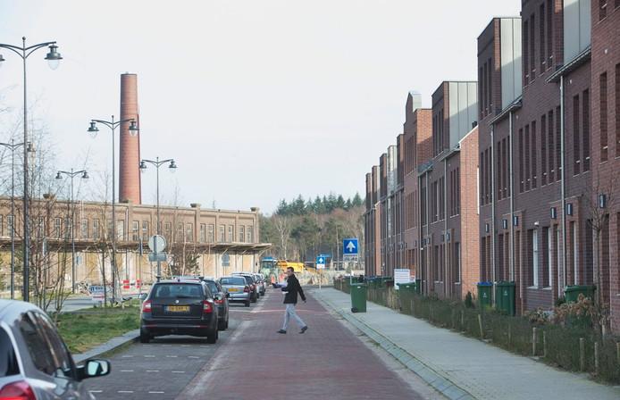 Nieuwbouw op het Enka-terrein in Ede.