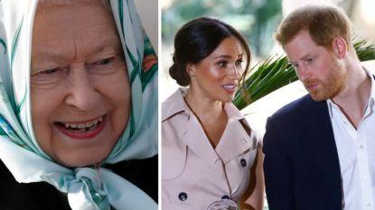 """Queen saboteert plannen van prins Harry en Meghan Markle: """"Ze mogen merk Sussex Royal niet meer gebruiken"""""""