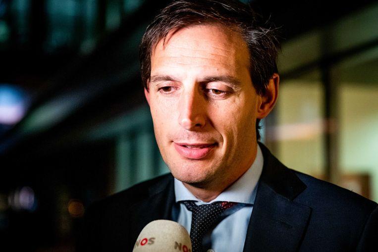 Wopke Hoekstra, minister van finaniciën. Beeld ANP