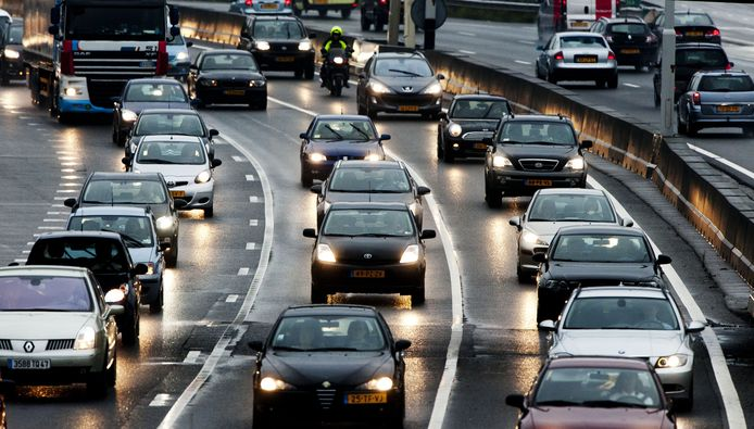 Verkeersdrukte (foto ter illustratie)