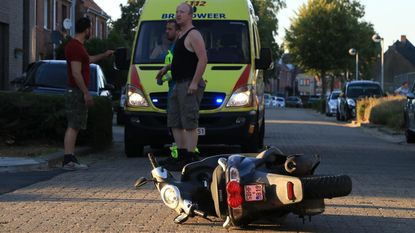 Bromfietser aangereden door dronken bestuurder