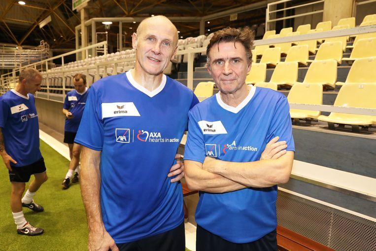 Filip De Wilde en Erik Van Looy