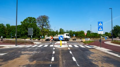 Nieuwe rotonde Ternesselei vrijdagavond open voor alle verkeer