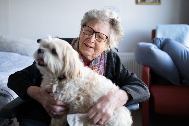 BORNEM De bewoners van Seniorencentrum OLV kregen donderdagmiddag hun huisdier op bezoek