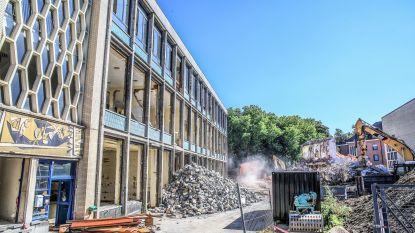 Sloop gewezen Sint-Jozefinstituut volop bezig