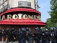 Intrusion et départ de feu dans une brasserie prisée de Macron