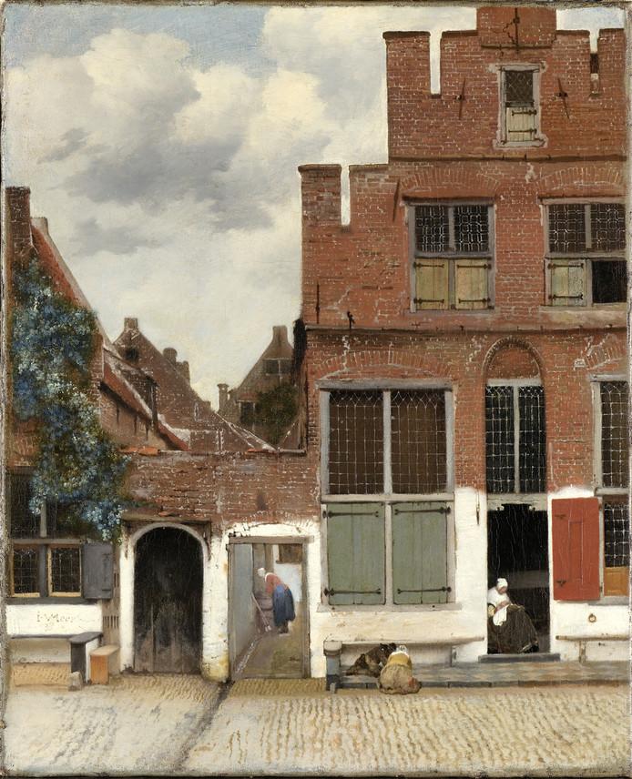 Het schilderij Gezicht op huizen in Delft is beter bekend als Straatje van Vermeer. Johannes Vermeer schilderde het in Delft rond 1658.