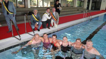 Gladde vloer blijft probleem in nieuw zwembad