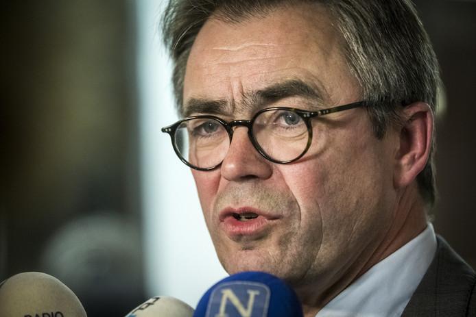 Jos Wienen, burgemeester van Haarlem.