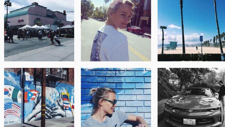 null Beeld Instagram van Tess Milne
