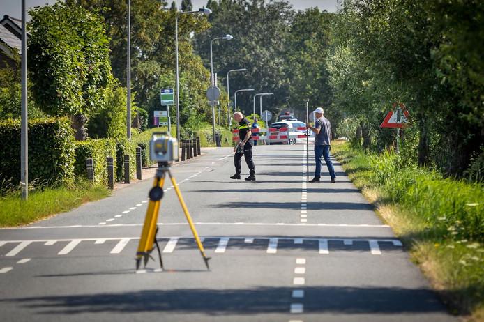 Politie doet aanvullend onderzoek op locatie dodelijk ongeval Uiterbuurtweg Nieuwveen