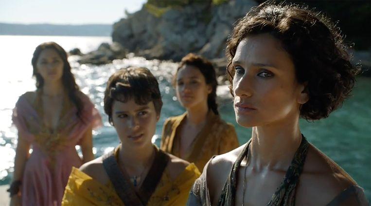 Ellaria en haar valse dochters nemen wraak. Beeld HBO