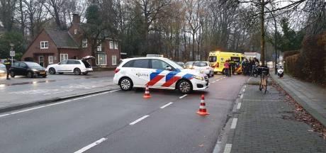 Fietsster geschept op Gronausestraat in Enschede, veel vertraging