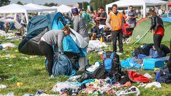 Zoveel afval laten festivalgangers (alweer) op camping van Pukkelpop achter