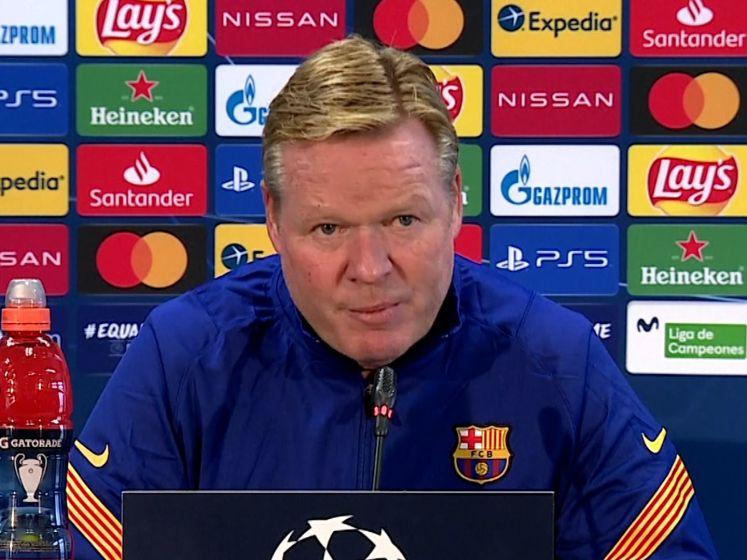 Koeman: 'Barcelona deze Champions League niet de favoriet'