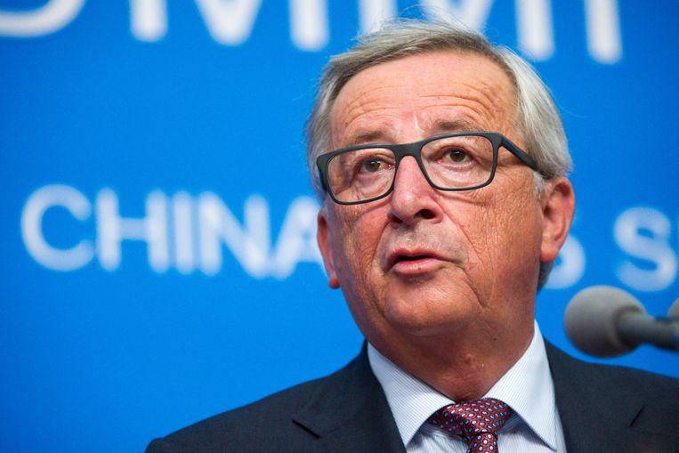 Europees Commissievoorzitter Jean-Claude Juncker.