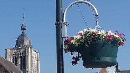 35 bloembakken fleuren centrum op