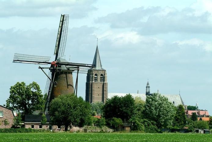 Molen De Arend moet gerestaureerd worden, maar hoe dat betaald moet worden is nog de vraag. foto BN DeStem