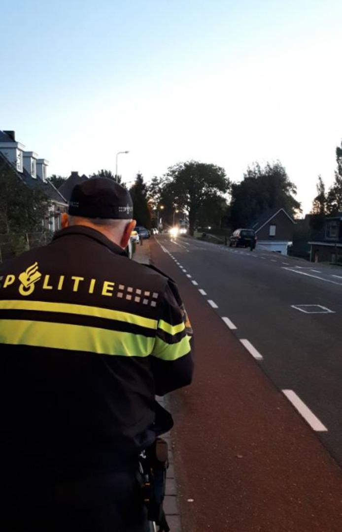 Drie automobilisten werden bekeurd op de Rustenburgstraat in Puttershoek.