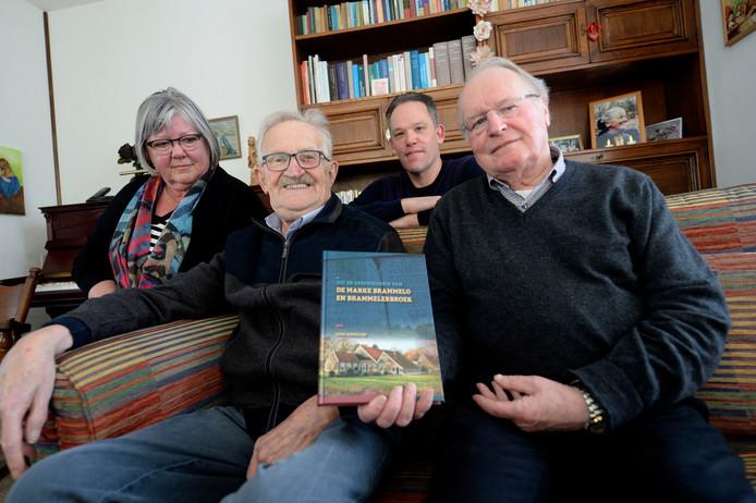 Ceciel Wajerdink, Henk Kormelink, Eric Ooijnk en Hendrik Scholten.