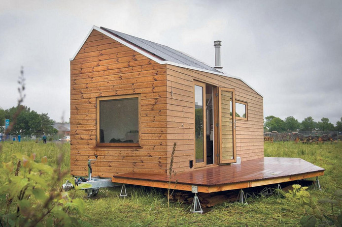 Een tiny house.