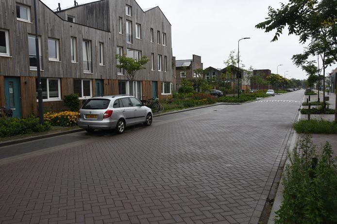 De Paardskerkhofweg is nu nog een rustig slaperig weggetje. Hoe zal het hier in de nabije toekomst zijn, als de plannen rondom het EKP-terrein Noord zijn gerealiseerd?