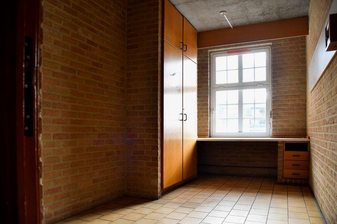 De slaapkamers van het internaat van de Abdijschool waren niet groot, maar gerieflijk.