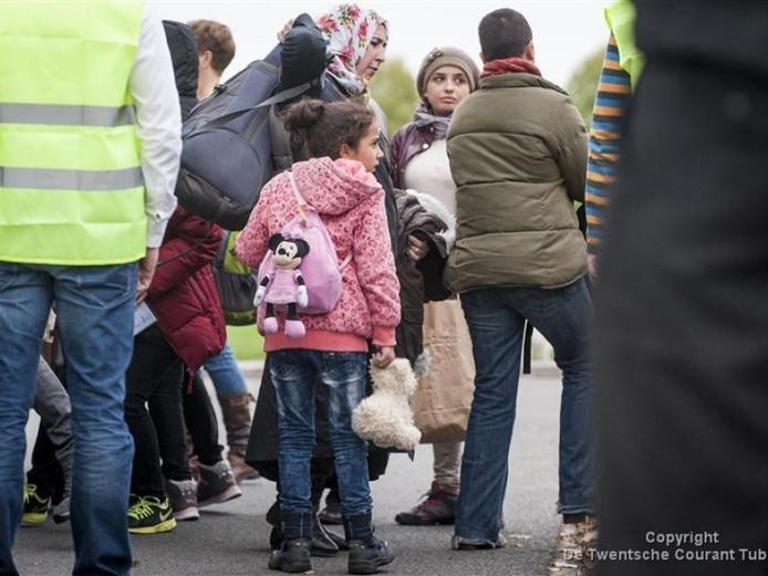 In Rijssen werden vorig jaar oktober tijdelijk vluchtelingen opgevangen in een sporthal