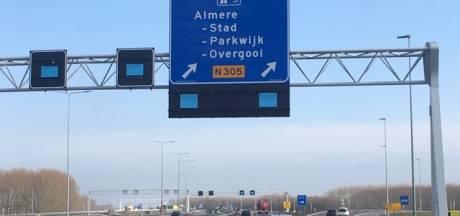 'Zeewolde terug op borden snelweg A6'