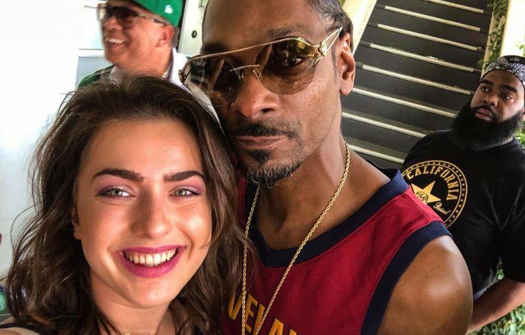 Olga Leyers en Snoop Doog