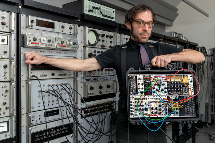 De Amerikaanse producer is veelvuldig te zien en te horen op het FAQ-festival in Den Bosch. Foto Marc Bolsius.