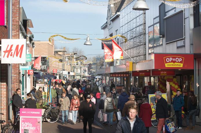 De Grotestraat in Ede.