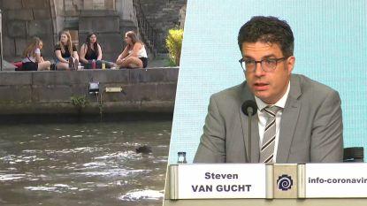 """Viroloog Steven Van Gucht: """"Hete zomer in combinatie met coronavirus zal uitdagingen met zich meebrengen"""""""