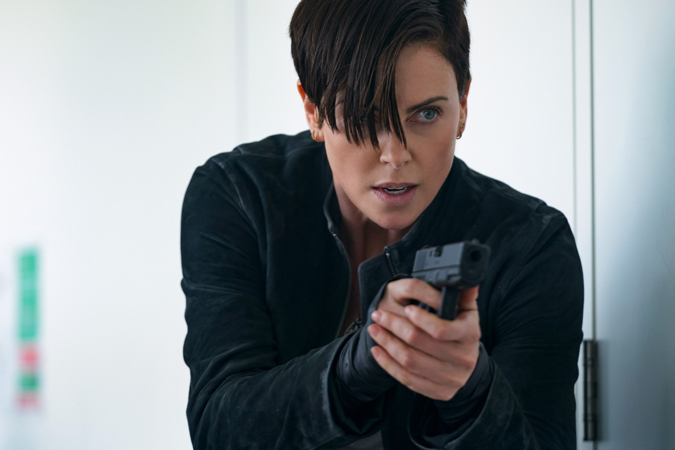 Charlize Theron in The Old Guard.