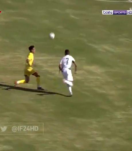 Le but génial de Riyad Mahrez qui qualifie l'Algérie pour la CAN