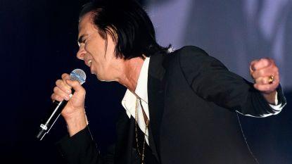 Fans, opgelet: kinderen enkel met begeleider welkom bij concert Nick Cave