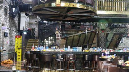 Balkon nachtclub in Gwangju stort in. Twee doden, verschillende atleten lichtgewond