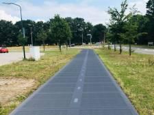 Rhenen krijgt fietspad met zonnepanelen: nooit meer glibberen en glijden op de fiets