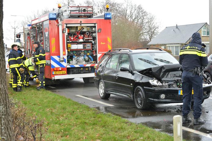 Ongeluk op Bredaseweg in Zundert
