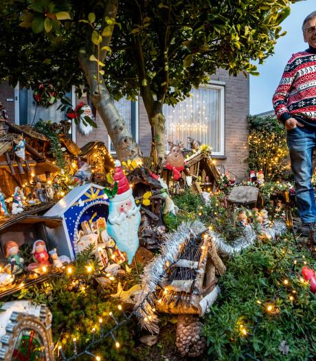 Wandelen langs kerststallen is hip: 'De ideeën worden wilder, de uitvoeringen uitbundiger en groter'