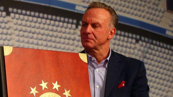 Voorzitter Karl Heinz Rummenigge eiste namens de Europese topclubs compensatie voor het voetbal op nationaal en continentaal niveau.