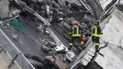 OVERZICHT. Minstens 35 doden na instorting brug Genua - Reddingswerkers vrezen dat de rest van brug zal instorten