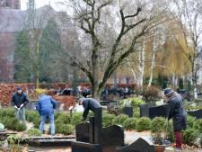 Vernielingen en diefstal bij begraafplaats Sint-Odulphus in Best