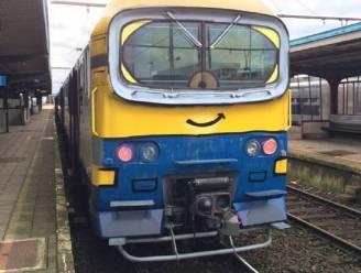 Vandalisme 2.0: graffitiartiest transformeert saaie NMBS-trein in gekke Minion