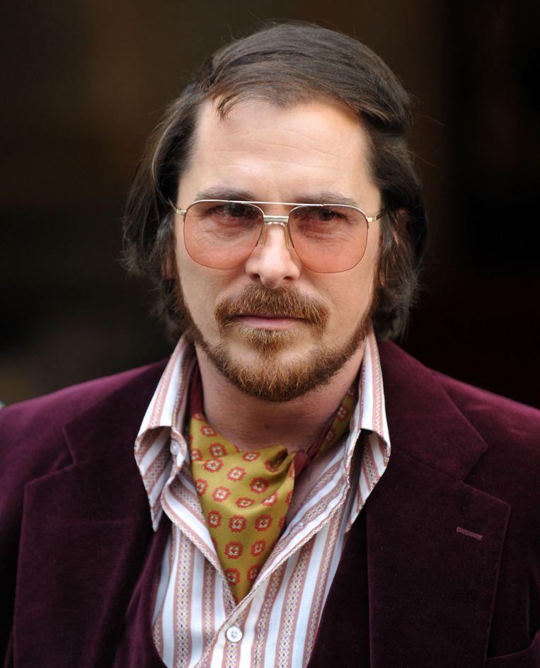 Hoofdrolspeler Christian Bale. Beeld getty