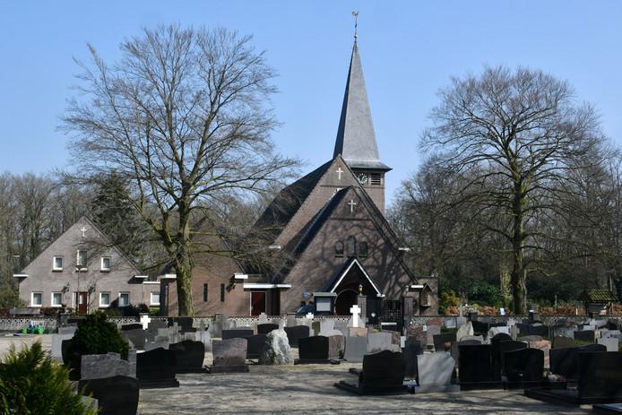 Kerk in Langeveen.
