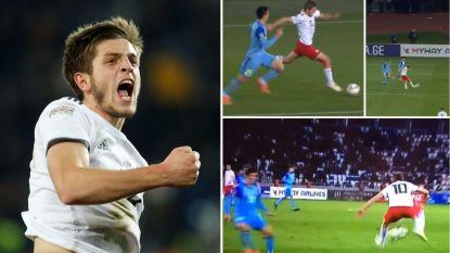 Goal, assist, maar vooral een onwaarschijnlijke dribbel: hele wereld leert goudhaantje (19) van AA Gent kennen dankzij de Nations League