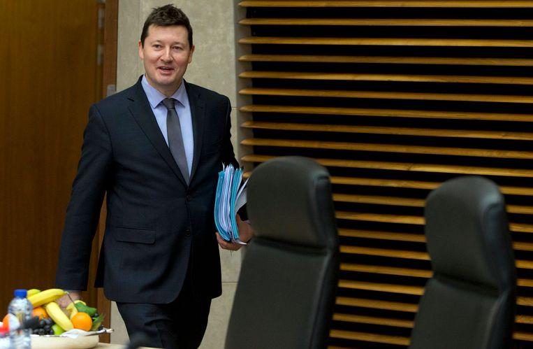De Duitser Martin Selmayr werd vorige maand in een paar minuten doorgeschoven van een relatief lage post naar de machtigste ambtelijke functie in Brussel. Beeld AP